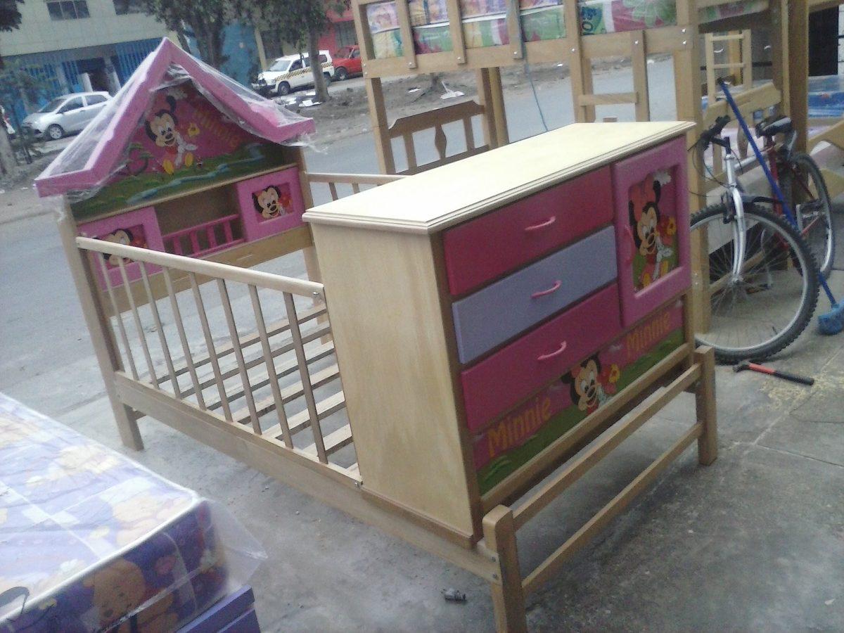 Cama cuna de ni a 1 1 2 modelo casita capirona nuevo - Cuna cama para nina ...