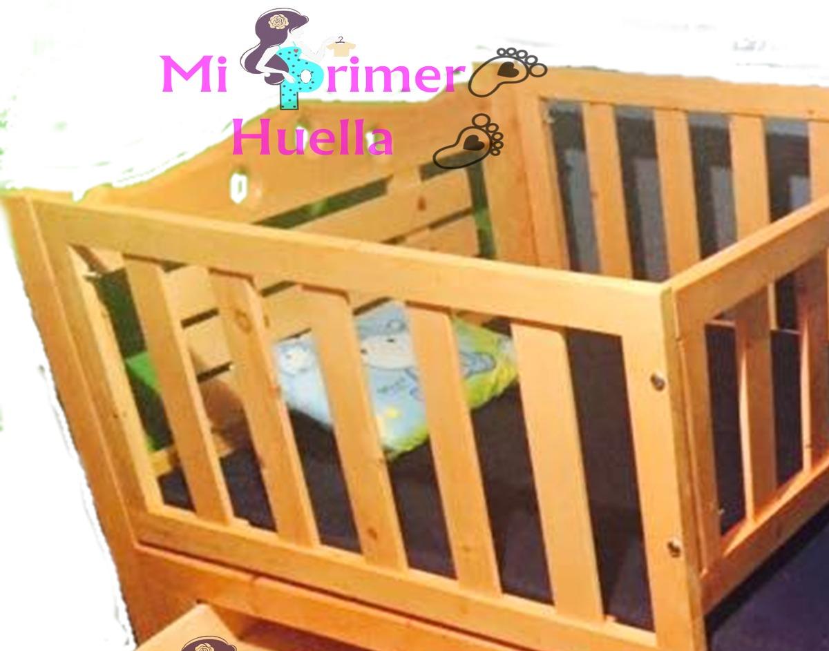 Cama cuna en madera de pino cama corral en mercado libre - Cama cuna en madera ...