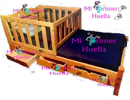 cama cuna en madera de pino cama corral