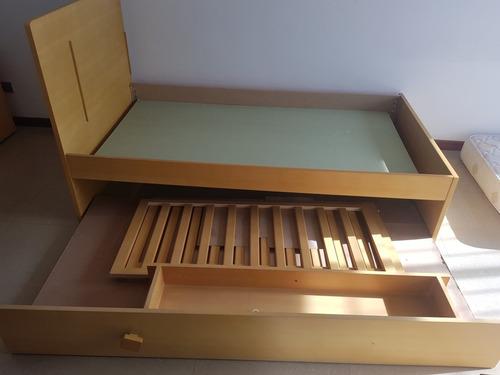 cama cuna en mdf
