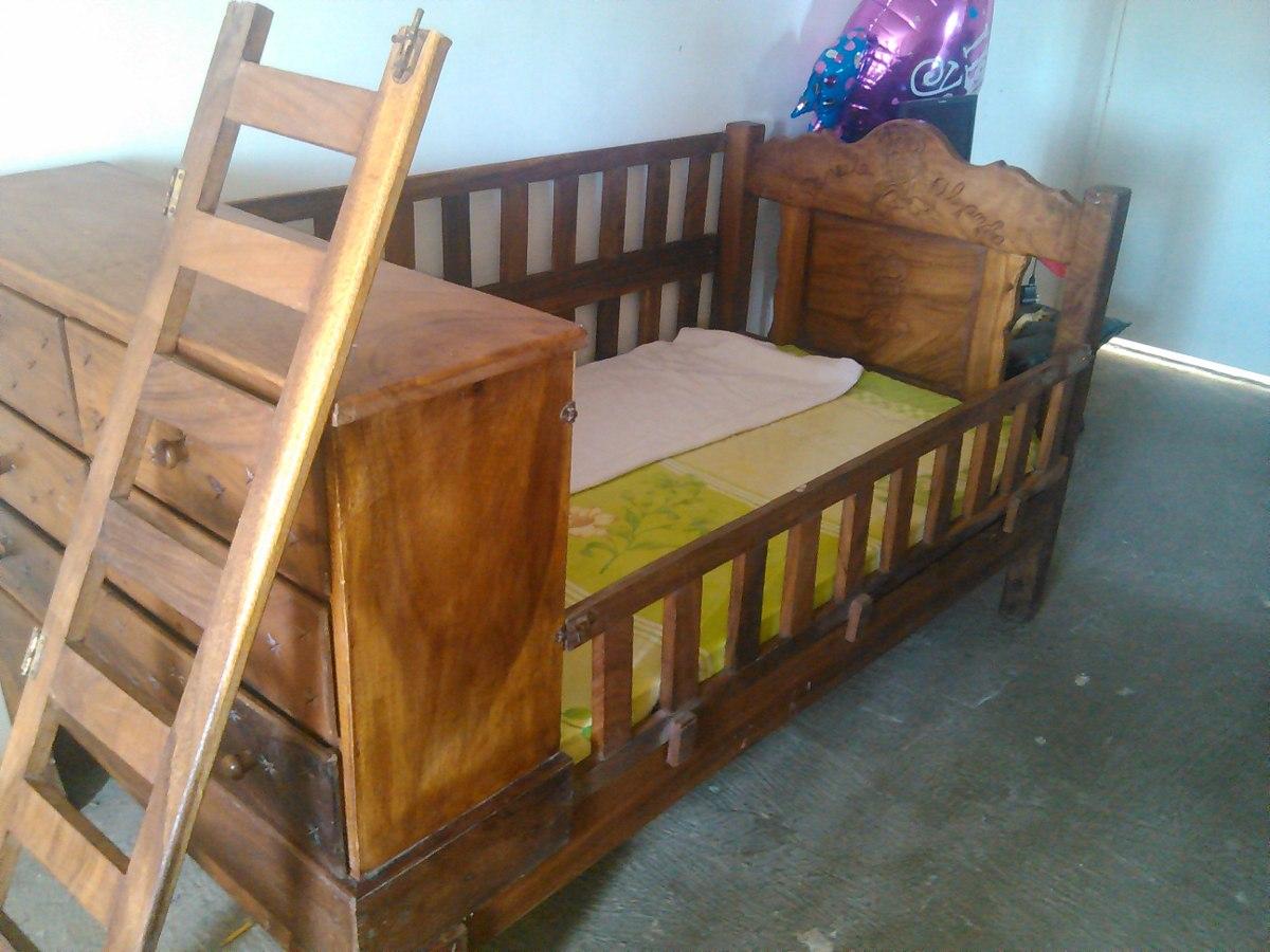 Cama cuna madera de saman fabricada en magdaleno bs en mercado libre - Cama cuna en madera ...