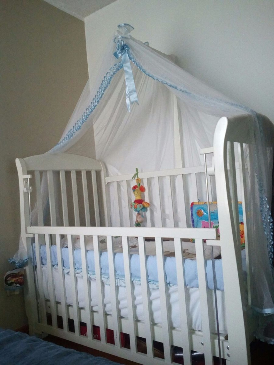Cama cuna para beb colch n parante s 795 00 en - Cuna de mimbre para bebe ...