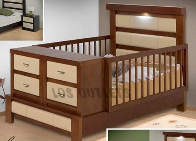 Cama cuna para beb convertible bs en mercado libre - Cuna cama para bebe ...