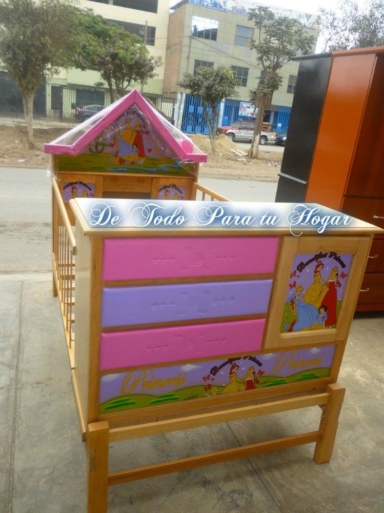 Cama cuna plaza 1 5 para ni as s 465 00 en mercado libre for Cama cuna para nina