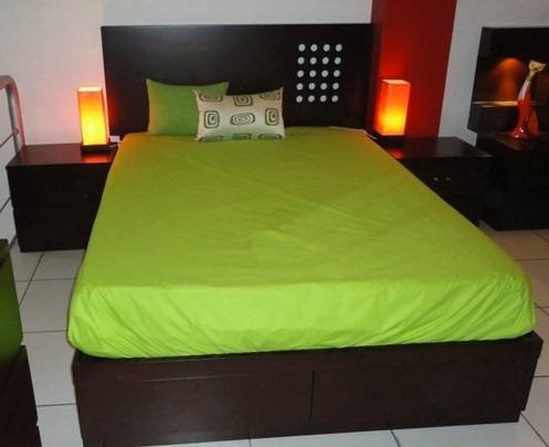 cama de 2 plazas.