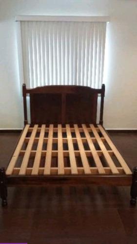 cama de casal embuia usada