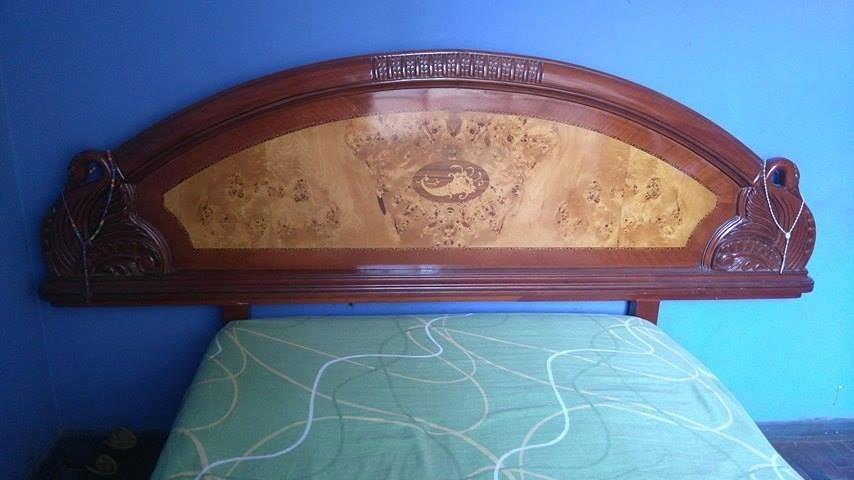 Cama de cedro tipo cisne 2 plazas s en for Tipos de camas de 2plazas