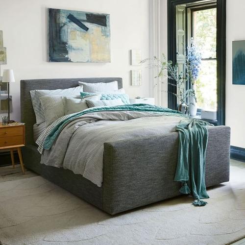 cama de dos plazas 1,40, 1,60, 2,00. chenill talampaya