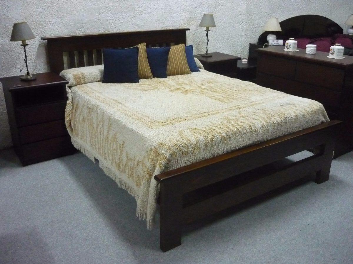 Muebles cama dos plazas for Cama dos plazas