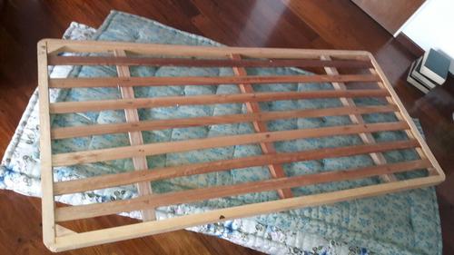 cama de estilo madera antigua - perfecto estado