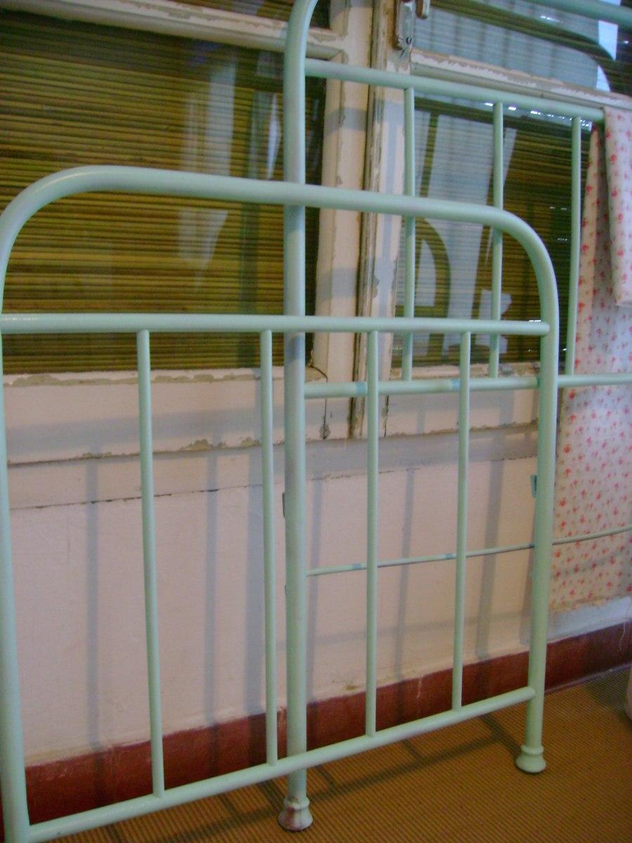 Camas de metal antiguas cama antigua with camas de metal - Camas antiguas de hierro ...