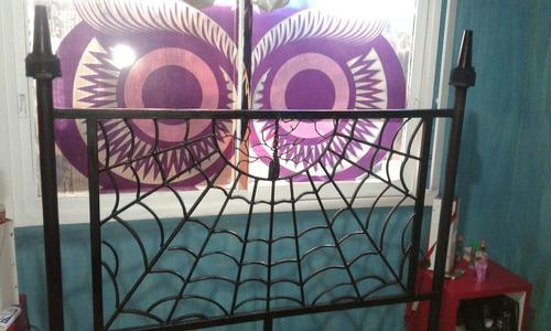 cama de hierro estilo gotico