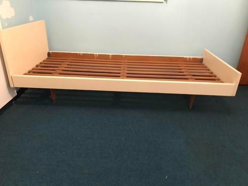 cama de madera 190cm x 90cm excelente estado