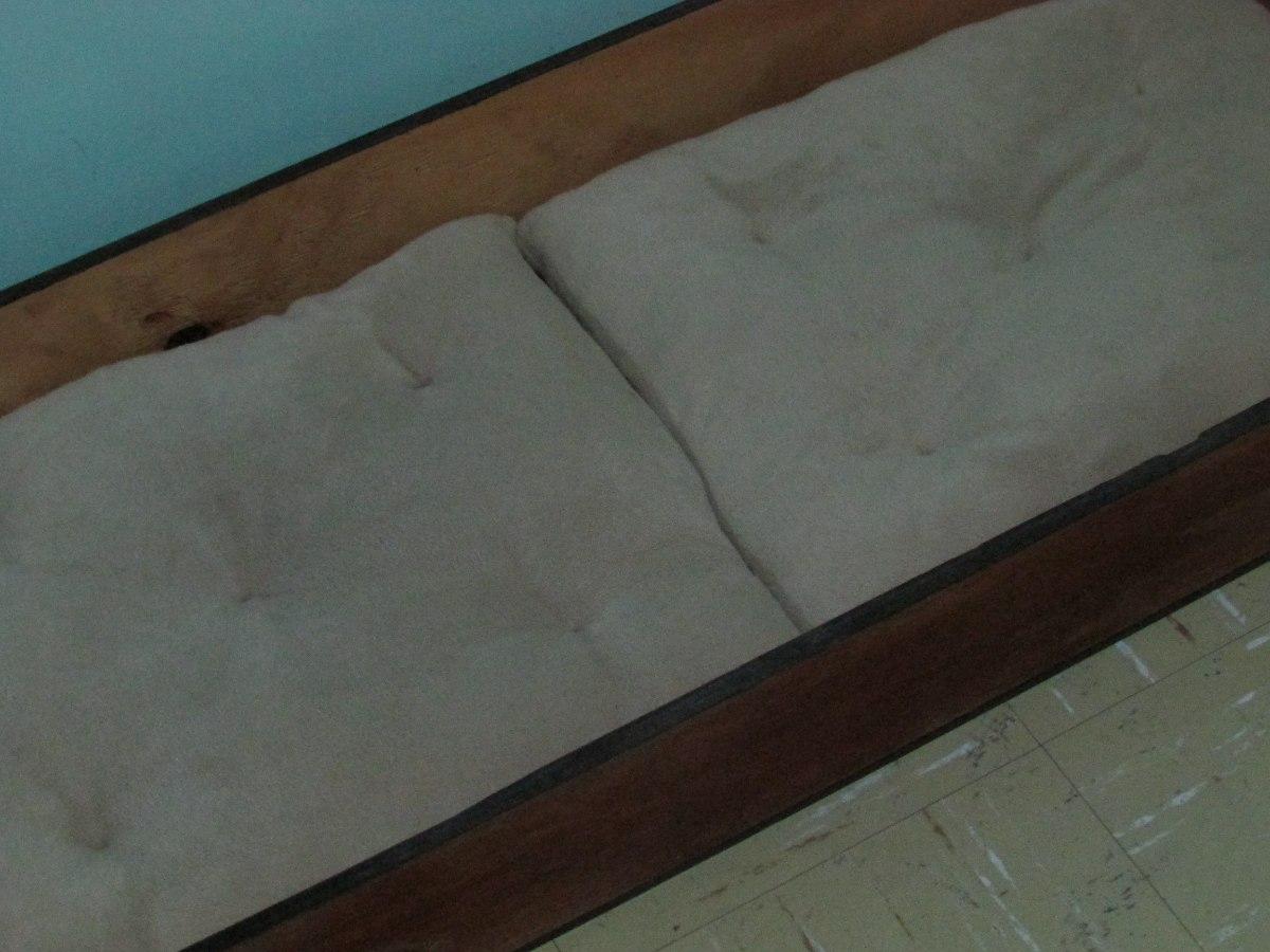 Cama de madera cojines perros o gatos en - Camas para perros de madera ...