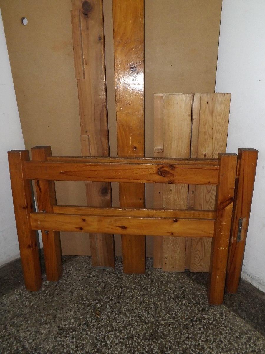 Cama de madera de pino bs en mercadolibre - Madera de pino ...