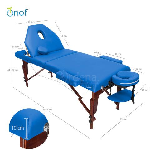 cama de masaje portatil plegable uso rudo capacidad 400 kg