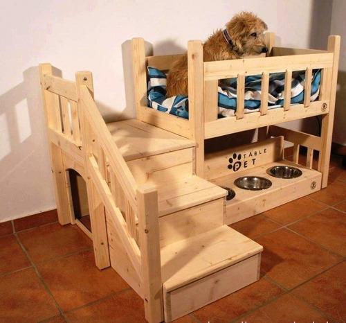 cama de perro 2 niveles