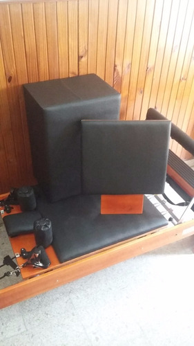 cama de pilates reformer con box y tabla (calidad excelente)