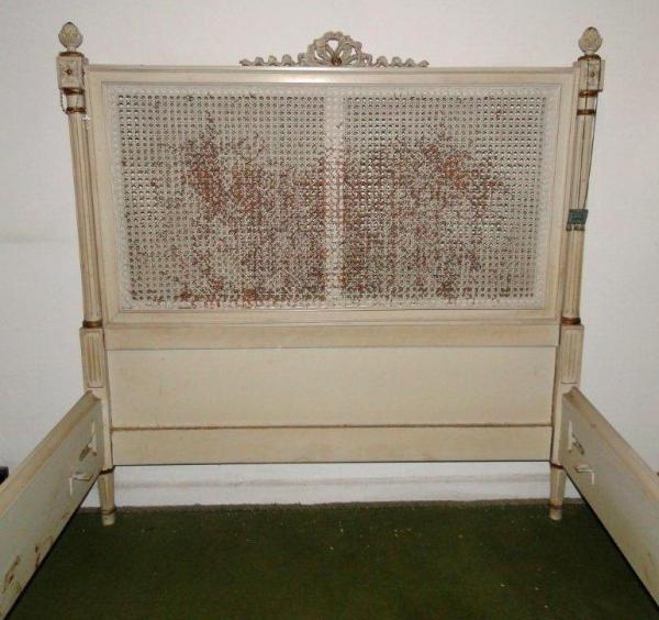 Cama de solteiro luis xv r 420 00 em mercado livre for Cama luis xv