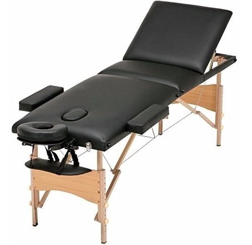 cama de spa o tatuaje reclinable portatil y plegable