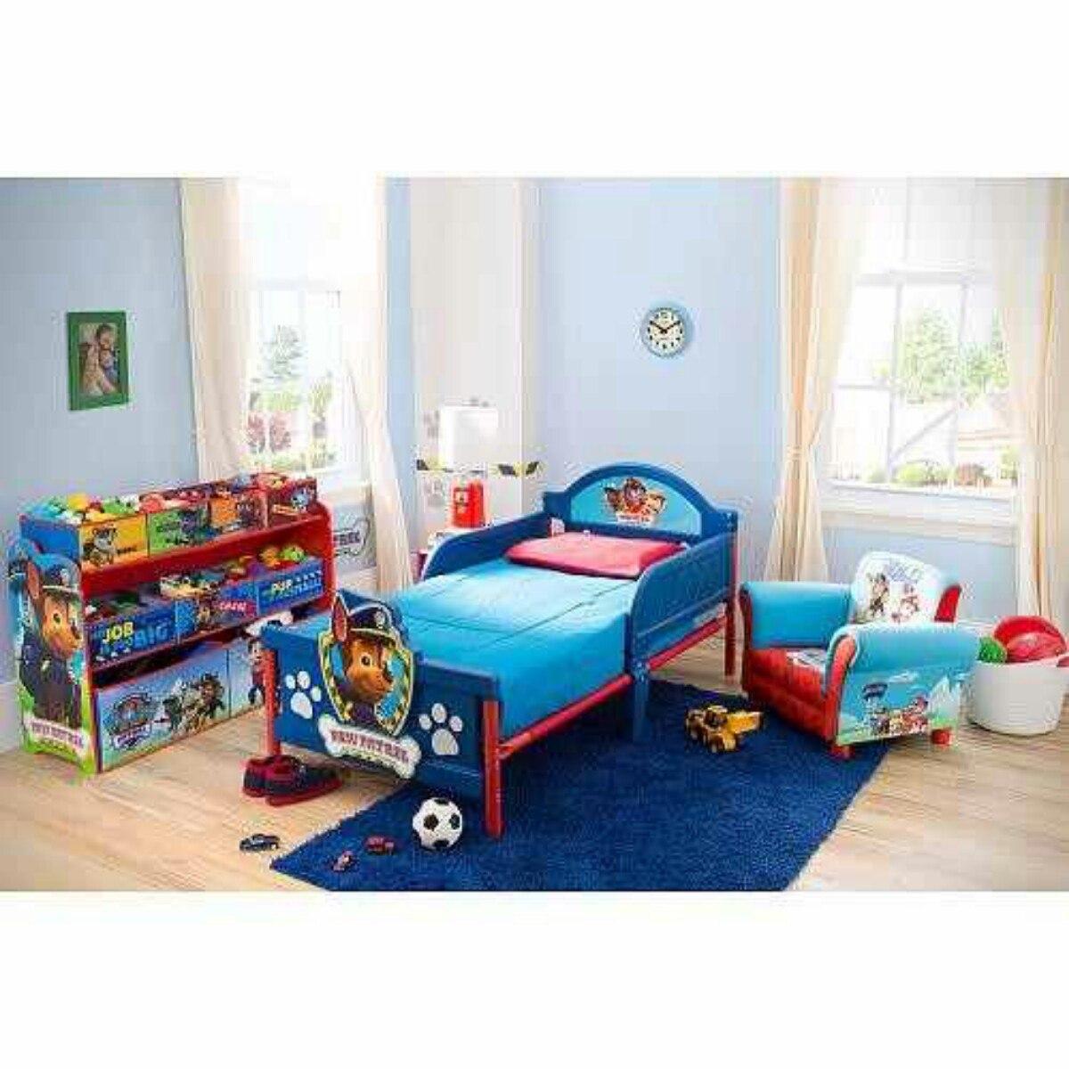 Toddler beds for boys - Cama De Transici 243 N Paw Patrol Dise 241 O 3d Delta Childrens