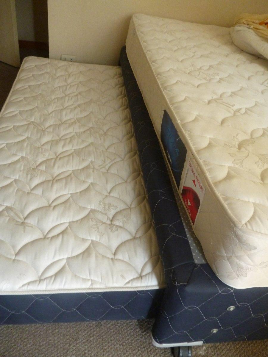 Cama de una plaza y media dos en uno marca konford s - Dos camas en una ...