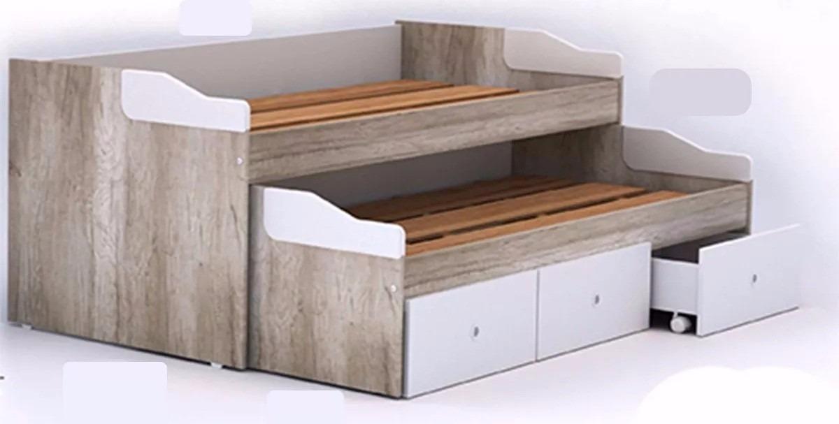 Increíble Plataforma De Almacenamiento De Muebles Cama Grande ...