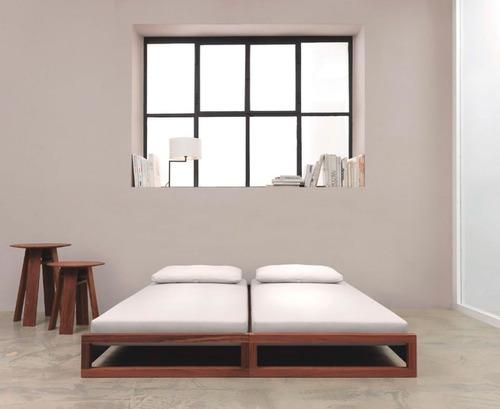 cama doble dubai canguro echadero niños - madera viva