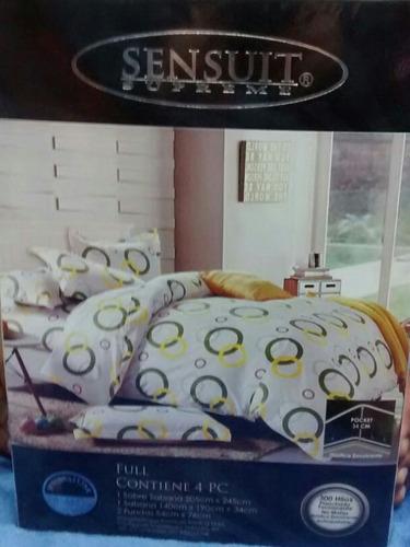 cama doble sabanas