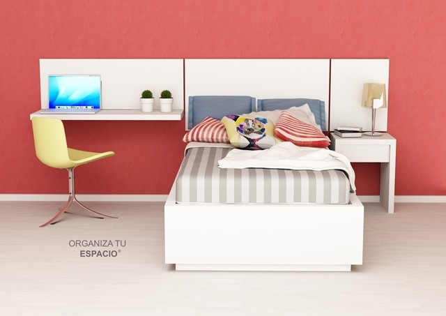 Cama Dormitorio Juvenil Ccompleto Oferta Ote Muebles - $ 8.100,00 en ...