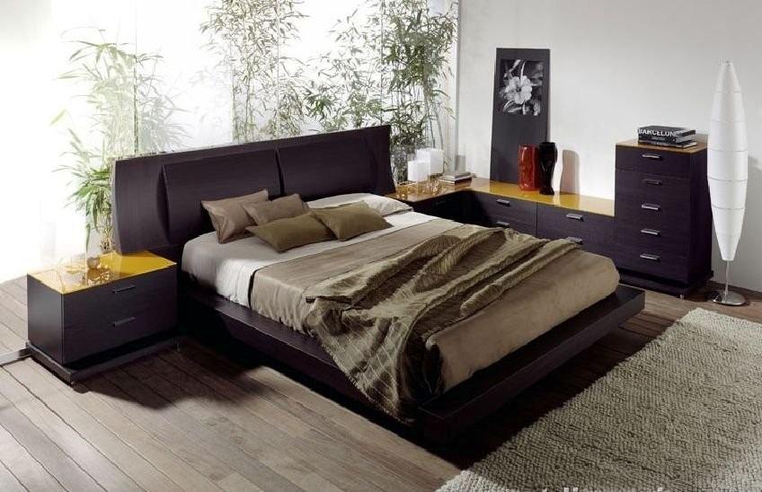Cama Dos Plazas Lineal 2 Veladores Dormitorio Dr 014 U S 1 000