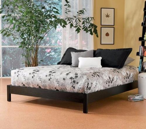 cama economica madera pino individual - madera viva