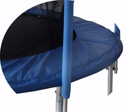 cama elástica 2.40mts  soporta 100kg. con red seguridad