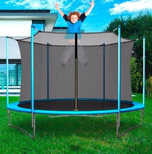 cama elastica 2.44 metros con red chicos niño adulto oferta