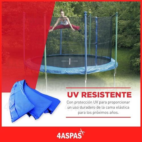 cama elastica 2.44 metros para niños adultos grande con red