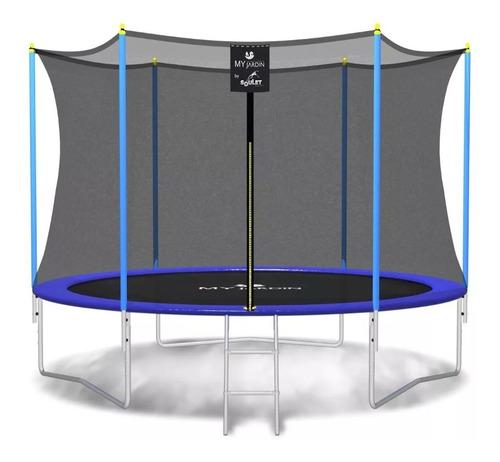 cama elástica 3 metros grande para niños soulet con red