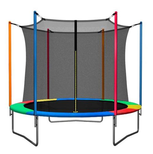 cama elastica 3 metros red protectora chicos niño adulto