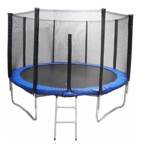 cama elástica 3,05mts 10ft, malla protectora y escalera