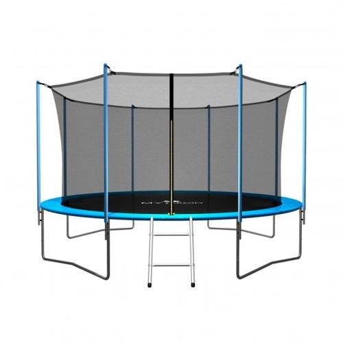 cama elastica grande 3,65 mt soulet my jardin red proteccion