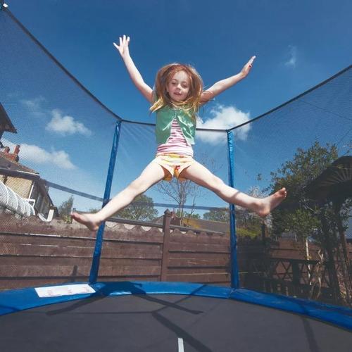 cama elastica grande nueva 3.65 metros red proteccion niños