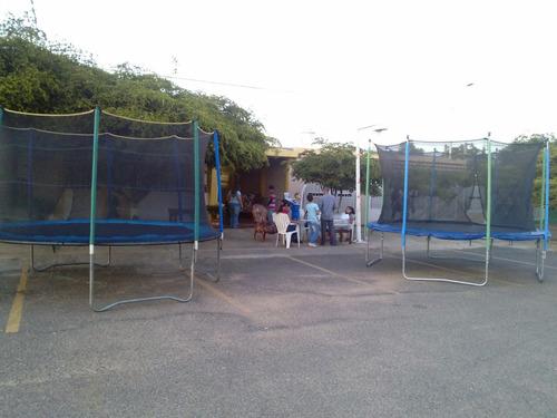 cama elastica inflables video beam trampoline vymg