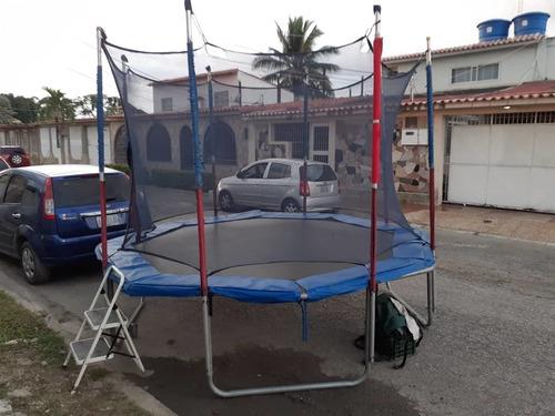 cama elastica para fiestas infantiles