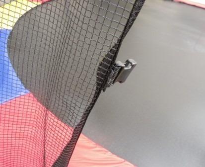 cama elástica pula pula trampolim 4,27m com rede e escada