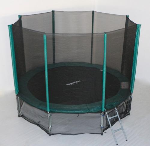 cama elástica reforzada 3.05m todo incluido / juguetón