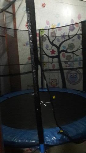 cama elástica trampolín saltarin 244cm  niños juegos regalo