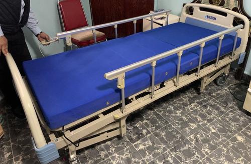 cama eléctrica hospital, 5 funciones c/colchón, ventaurgente