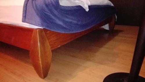 cama en cedro incluye colchon comodisimos excelente estado