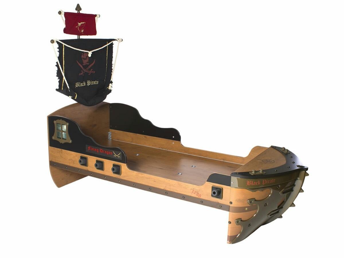 Cama en forma de barco pirata 6 en mercado libre - Cama barco pirata ...