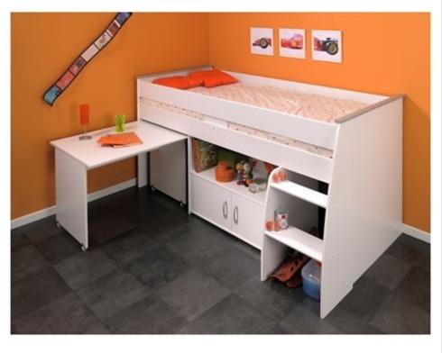 Cama escritorio homy reve 206x110x114 183cm nueva 149 for Cama escritorio