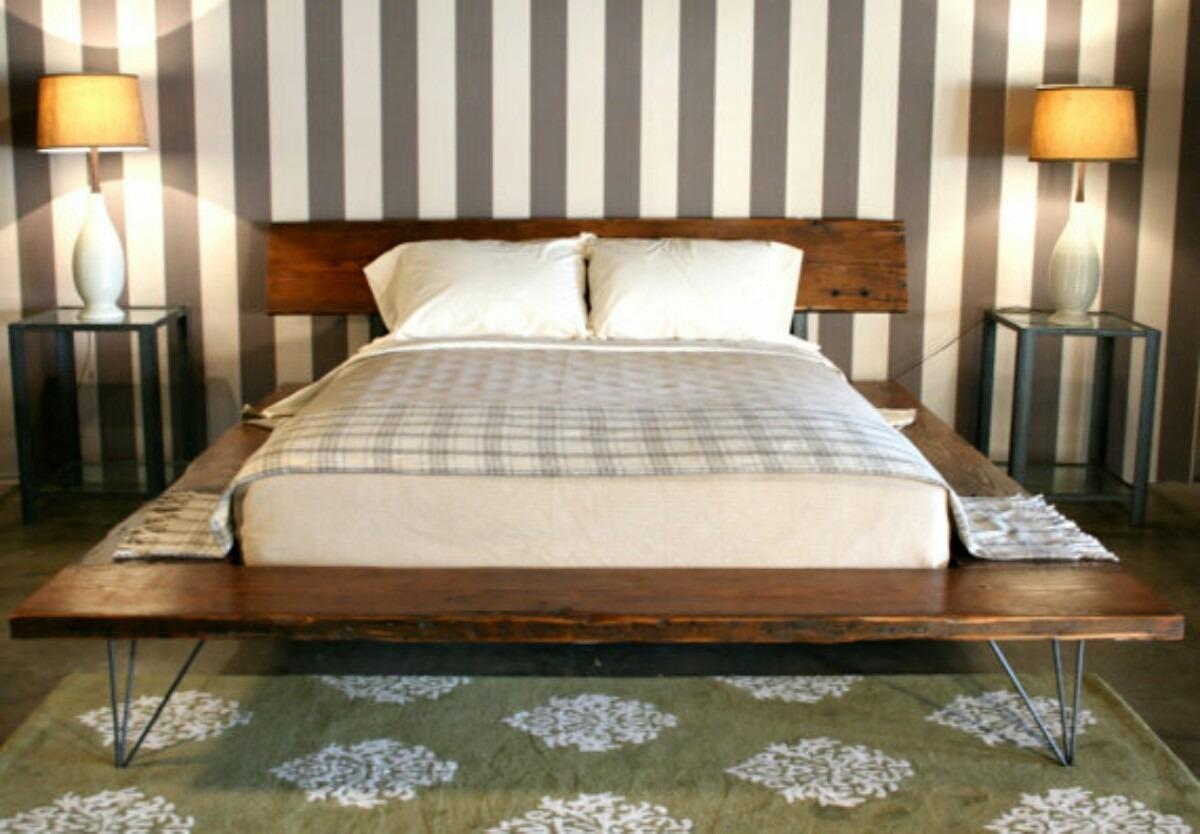 cama estilo industrial